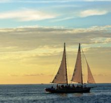 Sunset Sail - Photo by Meredith Eastwood