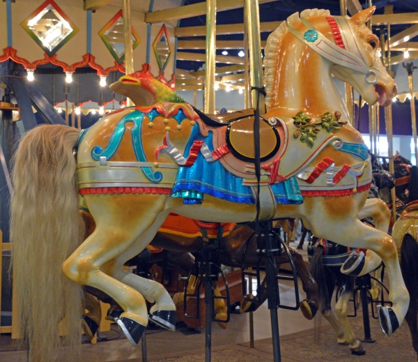 Carousel Horse - Photo by Meredith Eastwood