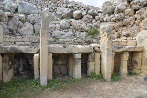 Ggantija Temple on Gozo, Malta