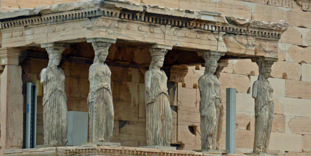 Porch of the Maidens from the Athenian Acropolis